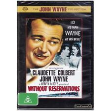 DVD WITHOUT RESERVATIONS - JOHN WAYNE COLLECTION - CLAUDETTE COLBERT R4 [BNS]