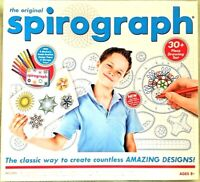 Spirograph, The Original Spirograph 30+ Piece Drawing Set, Hasbro  (Un-Used)