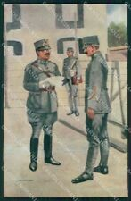 Military Soldiers Royal Dutch Army Van Oorschot 21 cartolina XF9185