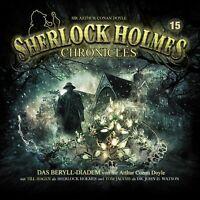 SIR ARTHUR CONAN... - SHERLOCK HOLMES CHRONICLES 15-DAS BERYLL-DIADEM  CD NEW