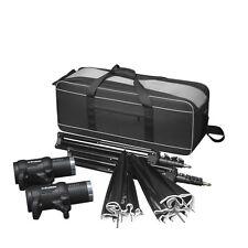 Profoto BatPac & Profoto D1 2 Head Studio Kit 250/500 On Location kit-Open Box