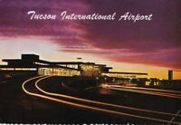 1970's Postcard Tucson International Airport Arizona