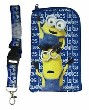 Disney Mickey Lanyard Fastpass ID Ticket Holders with Detachable Coin Purse