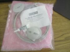 Kensington Desktop MicroSaver Computer Cable Lock Down w Key.  New Old Stock <