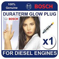 GLP054 BOSCH GLOW PLUG MITSUBISHI L200 2.5 DieseLTurbo 4WD 93-01 4D56 97bhp
