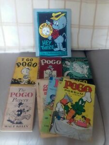 Vintage Collection of Pogo Possum Comics and Books by Walt Kelly