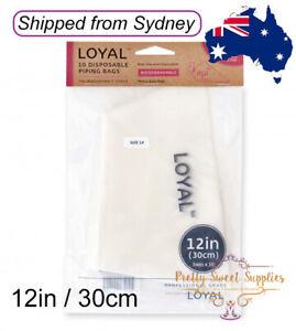 """12"""" BIODEGRADABLE Piping Bags 10pk"""