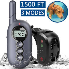 Dog Training Collar Pet Shock E-Collar Waterproof with Remote Small Big Dogs