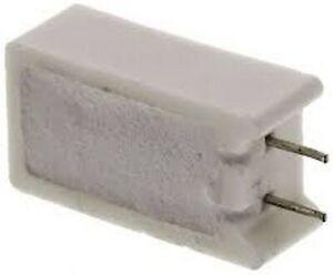 Résistance 22R Wire Plaie Alimentation 5 W céramique 5 W 22 ohms VERTICALE sqmw 522RJ x 1pc