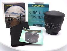 Lensbaby 5.8mm f/3.5 Circular Fisheye Lens for Nikon mount