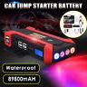Car 89800mAh 12V Jump Starter Battery Booster Power Bank Portable SOS LED Lights