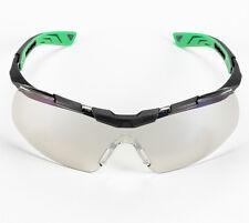 Univet 5X6 Sporty Design Wraparound Clear Lens Safety Glasses (5X6.03.11.00)