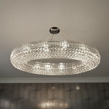 Cascata 24 Light Oval Glass Crystal Ceiling Fitting Chandelier Brand New