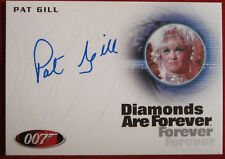 JAMES BOND - Diamonds Are Forever, PAT GILL, Shady Tree's Acorn - Autograph Card