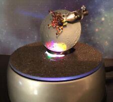 Nasa Apollo 13 Orbiter Spacecraft Model Display - Meteorite Coated Lighted Rare