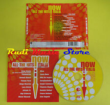 CD NOW ALL THE HITS ITALIA compilation 2005 MINA D'ALESSIO(C1)no lp mc dvd vhs