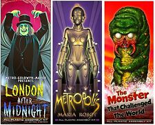 Aurora Monster Kits London After Midnight, Metropolis Sticker or Magnet