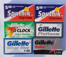 vintage Gillette Super Silver Rasierklingen für Rasierhobel safety razor blades