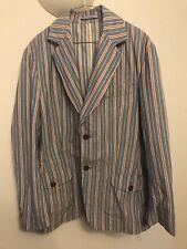 Vivienne Westwood blue and red striped men's blazer SIZE 50
