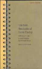 The Lost Notebooks of Loren Eiseley Editor-Kenneth Heuer PB VG Clean, no marks