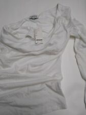 Baby One Shoulder Top White Xs MSRP $49