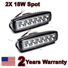 2X 6inch 18W LED Work Light Bar Spot Off-road Driving 4WD LAMP ATV UTE Truck