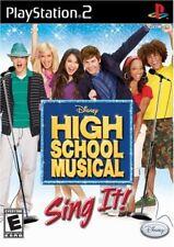 High School Musical : Tous en scène ! - PlayStation 2 - JEU NEUF