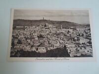 JERUSALEM And The Mount Of Olives No 601 - Vintage Postcard  §E3090