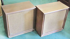 Vintage Mid-Century The Fisher XP15B Massive Floor Speakers - Sound Great!