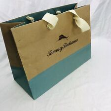 Tommy Bahamas Paper Shopping / Signature Gift Bag • Med 12 x 5 x 9-3/4in.