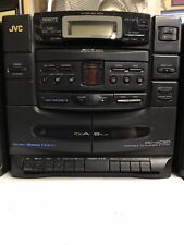 JVC PC-XC30 Boom Box 6 Disc , Dual Cassette Player and AM FM Stereo All Works