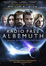 Radio Free Albemuth (DVD) Jonathan Scarfe, Scott Wilson, Alanis Morissette NEW