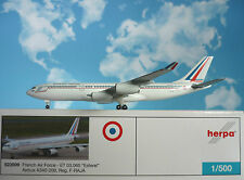 Herpa Wings 1:500 Airbus a340-200 FRENCH AIR FORCE F-RAJA 523509