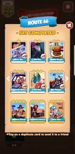 Route 66 Full Set :- Coin Master Cards ( Fastest Delivery