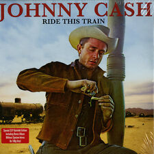 JOHNNY CASH Ride This Train UK 180g vinyl 2-LP set SEALED / NEW