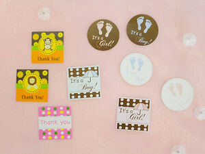 48 pcs-Baby shower Tags Baby shower Favors & Decoration (Free Shipping)