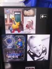 Lot of (7) Clear Magnetic 8 1/2 x 11 Picture, Photo Frames