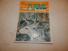 Armi Ieri E Oggi Caccia E Tiro 1967 Gun Deer Knife Catalog/Magazine