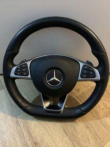 2018 MERCEDES-BENZ C W205 Multifunction Steering Wheel Complete A0004603803