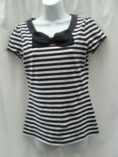 Cotton Short Sleeve Striped NEXT T-Shirts for Women