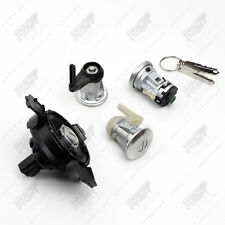 PEUGEOT 206 DOOR LOCK COMPLETE SET 2 KEYS 2 BARREL BOOT FUEL TANK LOCK NEW