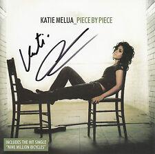 KATIE MELUA Piece By Piece 2005 UK SIGNED/AUTOGRAPHED CD + CoA
