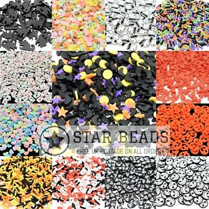 25G POLYMER CLAY FIMO SPRINKLE SLICES RESIN SLIME INCLUSIONS - PICK STYLE 5-10MM