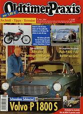 Oldtimer Praxis 5 04 2004 DKW F5 Honda XL 250 Puch P 800 Volvo P 1800 Renault 12