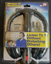 My Zone Headphones Wireless TV Headphones As Seen ON TV Brand New