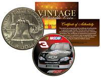 DALE EARNHARDT * #3 NASCAR * Colorized 1951 Franklin Silver Half Dollar US Coin