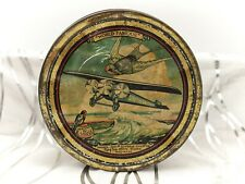 More details for rare early aviation-vintage/antique cake/biscuit tin-southern cross-1928