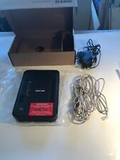 D-Link DSL-2750B Black 300 Mbps 4-Port Wireless N Internet Router For Verizon
