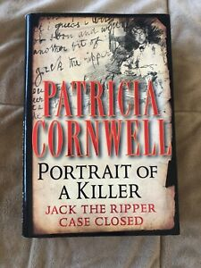 Portrait of a Killer by Patricia Cornwell Hardcover DJ 2002