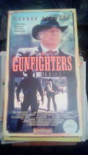 The Gunfighters RARE Starmaker 1st Edition (1987) VHS western George Kennedy OOP